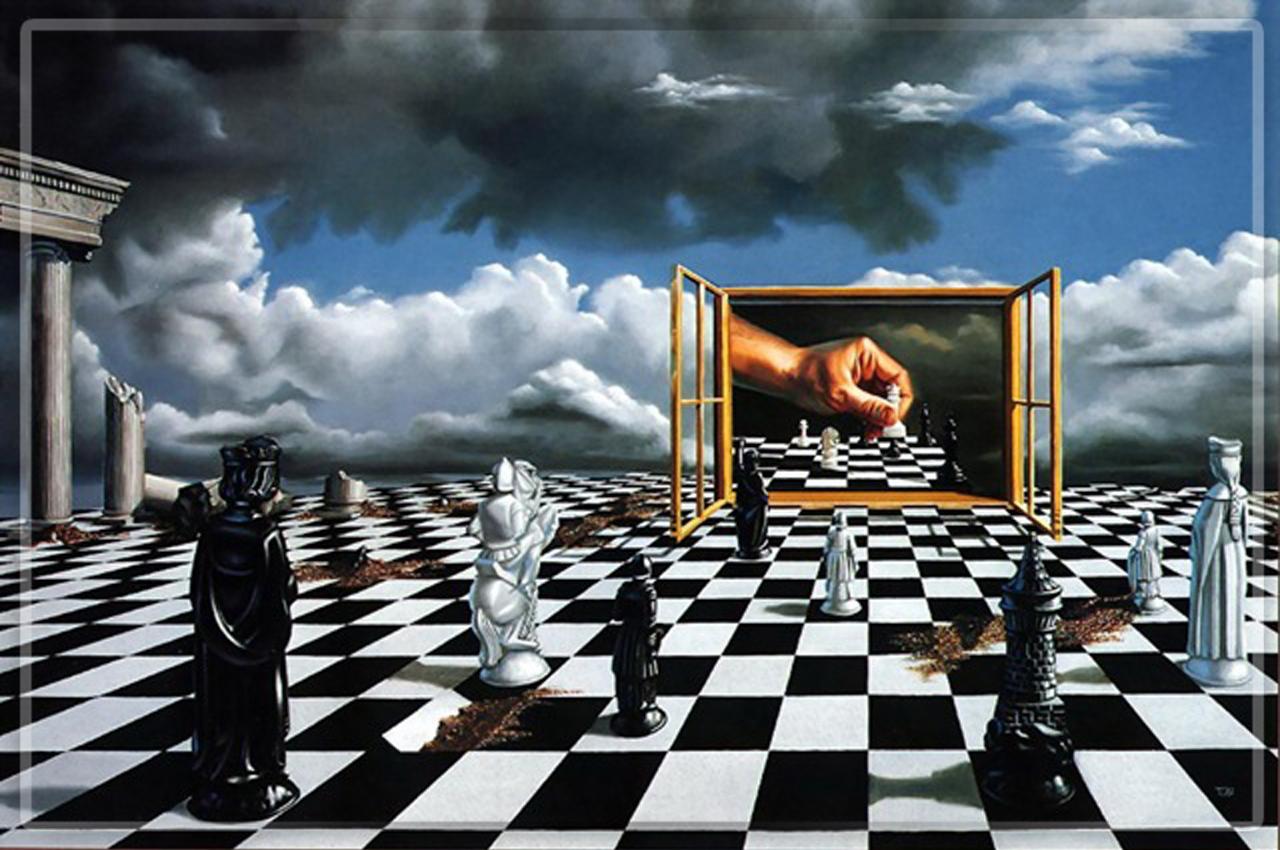 Великая шахматная доска. Двадцать лет спустя. - СТРАТПОЛ